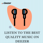Listen to the best quality music on Deezer