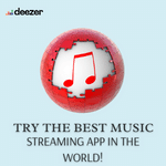 Try the best music streaming app in the world Deezer app